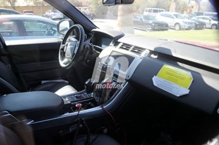 Un vistazo al interior del Range Rover Sport 2018 con mecánica híbrida