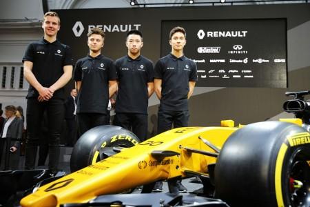 La Renault Sport Academy se renueva casi por completo en 2017