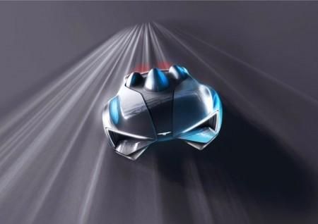 Techrules nos anticipa de nuevo el diseño de su superdeportivo de producción