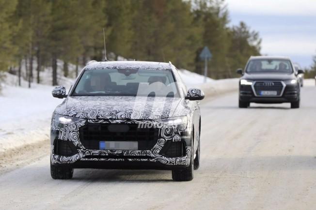 Audi Q8 2018 - foto espía