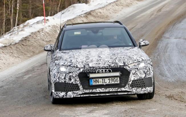 Audi RS4 Avant 2018 - foto espía