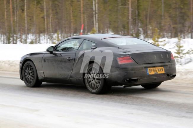 Bentley Continental GT 2018 - foto espía posterior