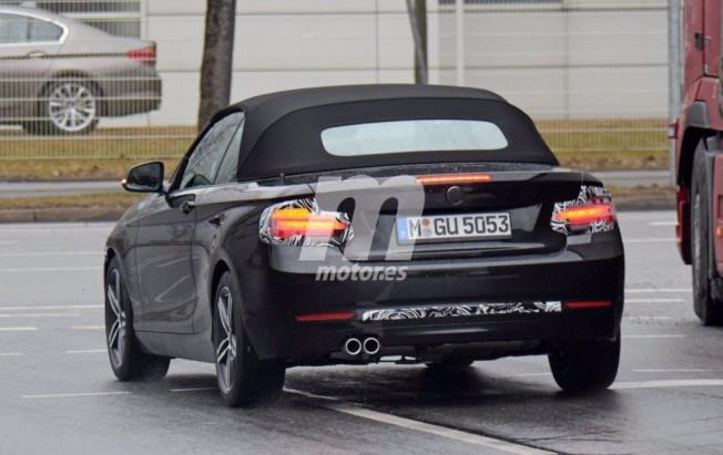 BMW Serie 2 Cabrio 2018 - foto espía posterior