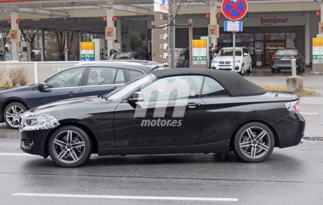 BMW Serie 2 Cabrio 2018 - foto espía lateral