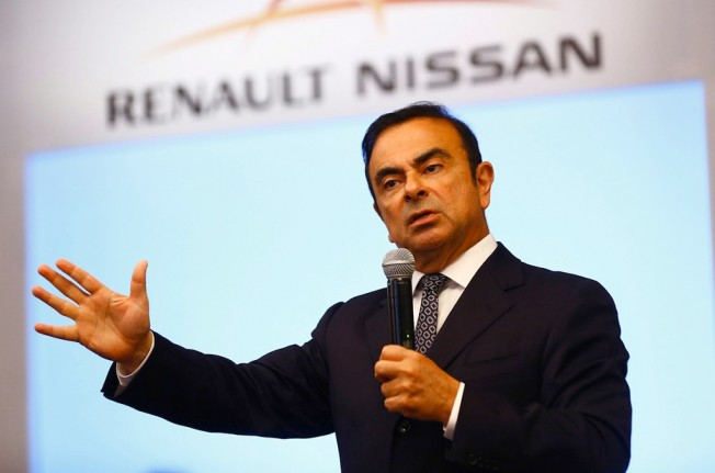 Carlos Ghosn CEO de Nissan