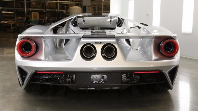 Ford GT Competition Series - posterior