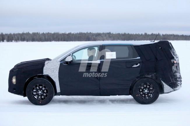 Hyundai Santa Fe 2018 - foto espía