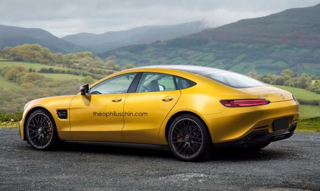Mercedes-AMG GT4 - recreación