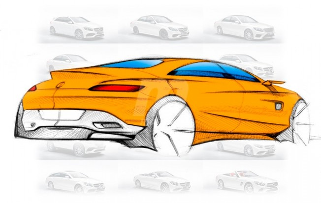 Mercedes-AMG GT4 - boceto