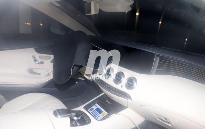 Mercedes Clase S Cabrio 2017 - foto espía interior