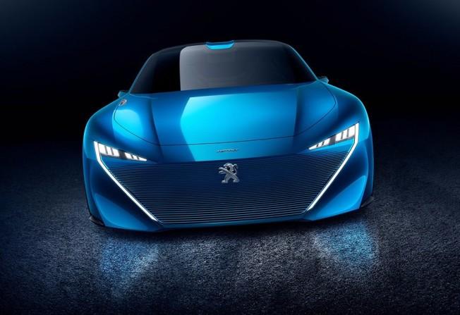 Peugeot Instinct Concept - frontal