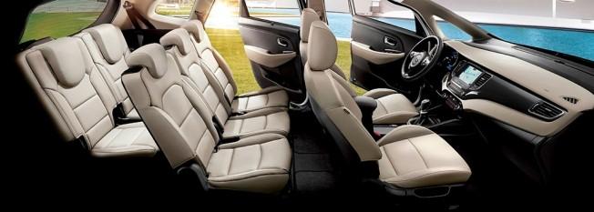 Kia Carens 2017 - interior
