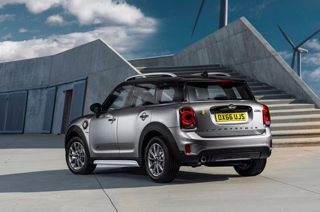 MINI Cooper SE Countryman ALL4 2017 - posterior