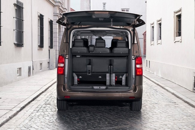 Toyota ProAce Verso 2017 - maletero