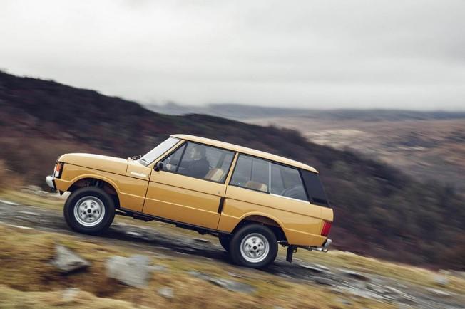 Range Rover Classic 1978 restaurado