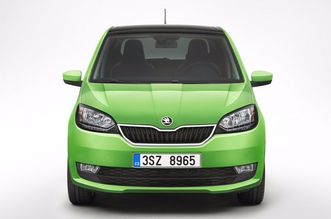 Skoda Citigo 2017 - frontal