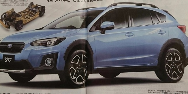 Subaru XV 2018 - imagen filtrada