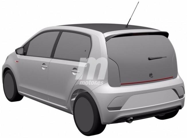 Volkswagen Up! GTI 2018 - patente