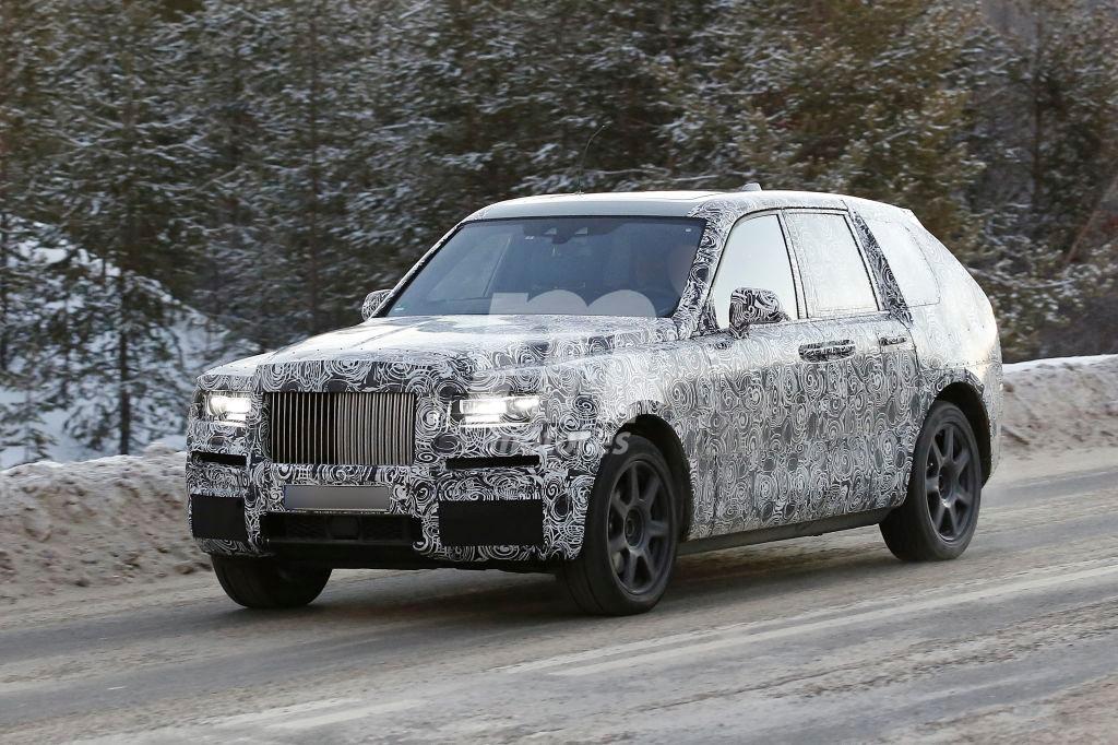 El esperado Rolls-Royce Cullinan 2018 al detalle en estas nuevas fotos espía