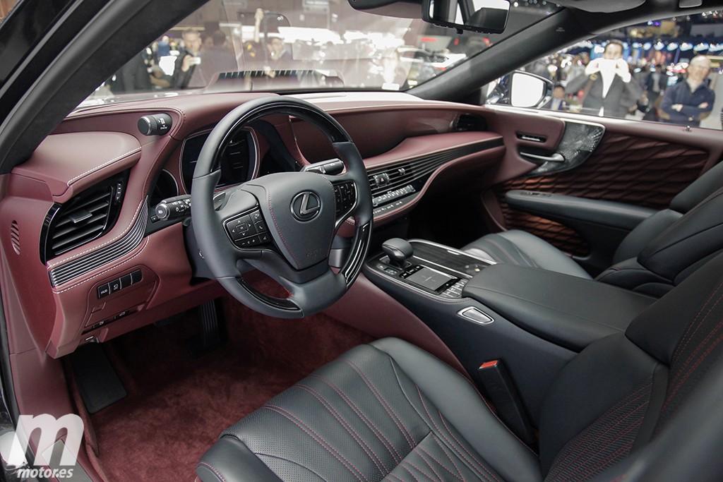 El arte que hay detrás de los acabados del nuevo Lexus LS