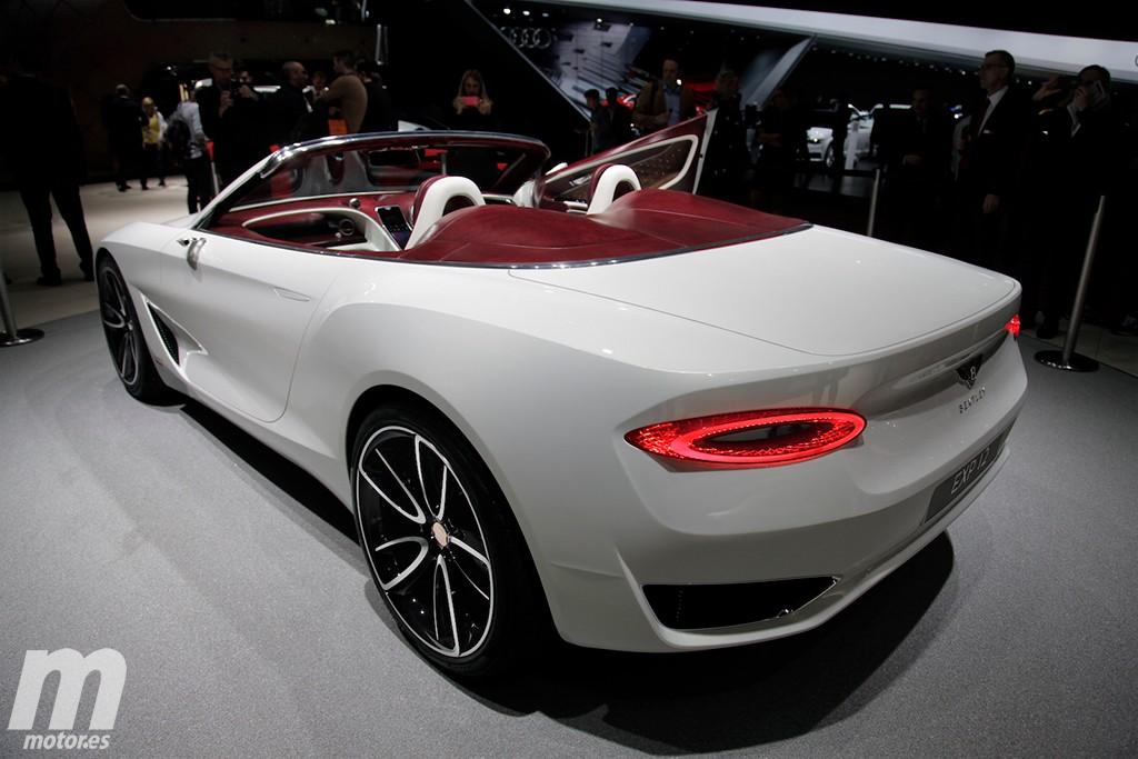 Bentley EXP 12 Speed 6e Concept, los coches de lujo se electrifican
