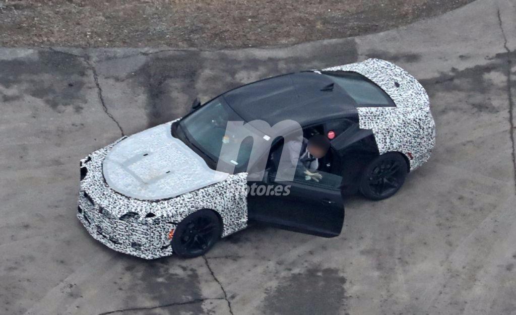 Chevrolet Camaro: el misterioso prototipo que adelanta el posible Z28