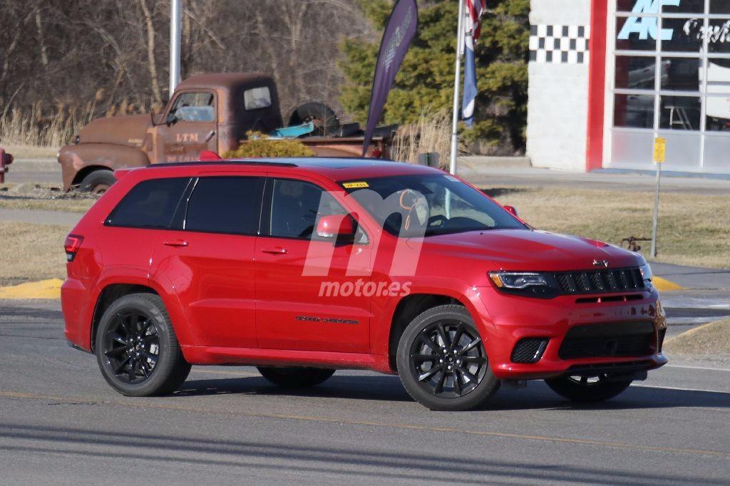 Jeep Grand Cherokee Trackhawk: el SUV más potente del mundo al descubierto
