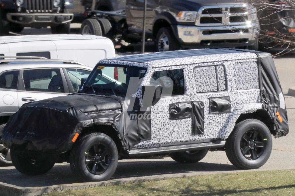 Jeep Wrangler 2018: las primeras imágenes del nuevo hardtop