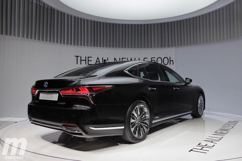 Lexus LS 500h: se presenta en Ginebra la versión insignia de la gama