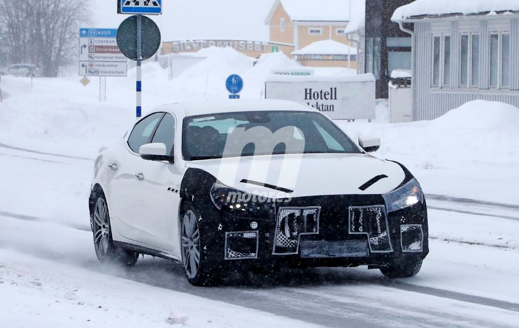 2018 Maserati Ghibli Facelift 4