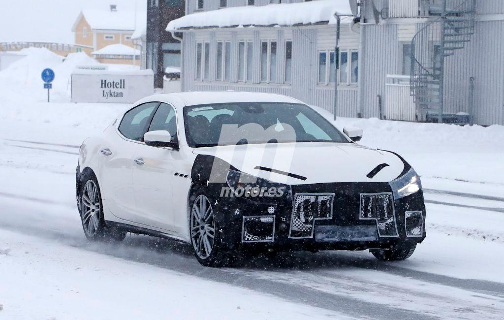 2018 Maserati Ghibli Facelift 5