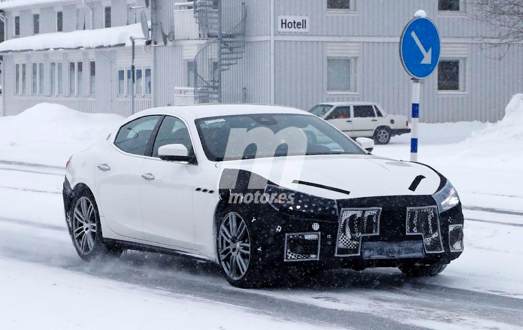 2018 Maserati Ghibli Facelift 6