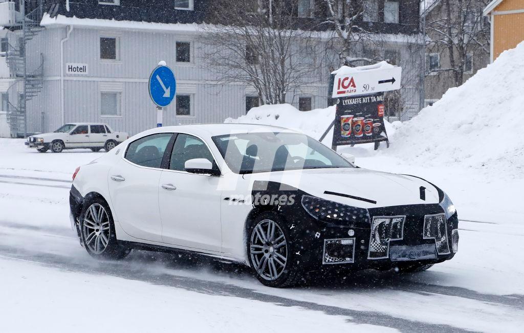 2018 Maserati Ghibli Facelift 7
