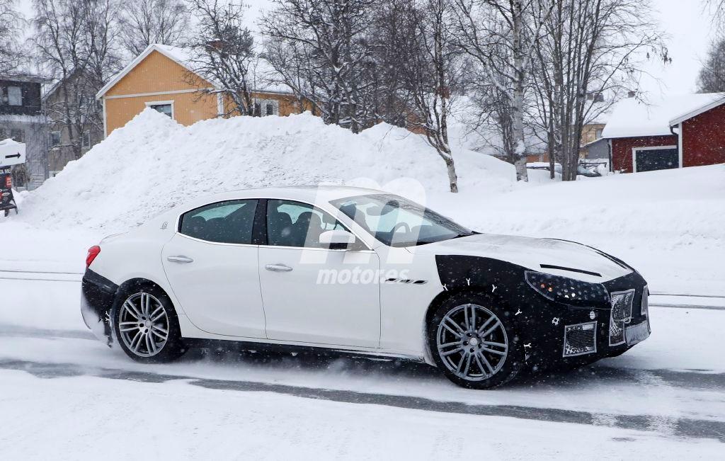 2018 Maserati Ghibli Facelift 8