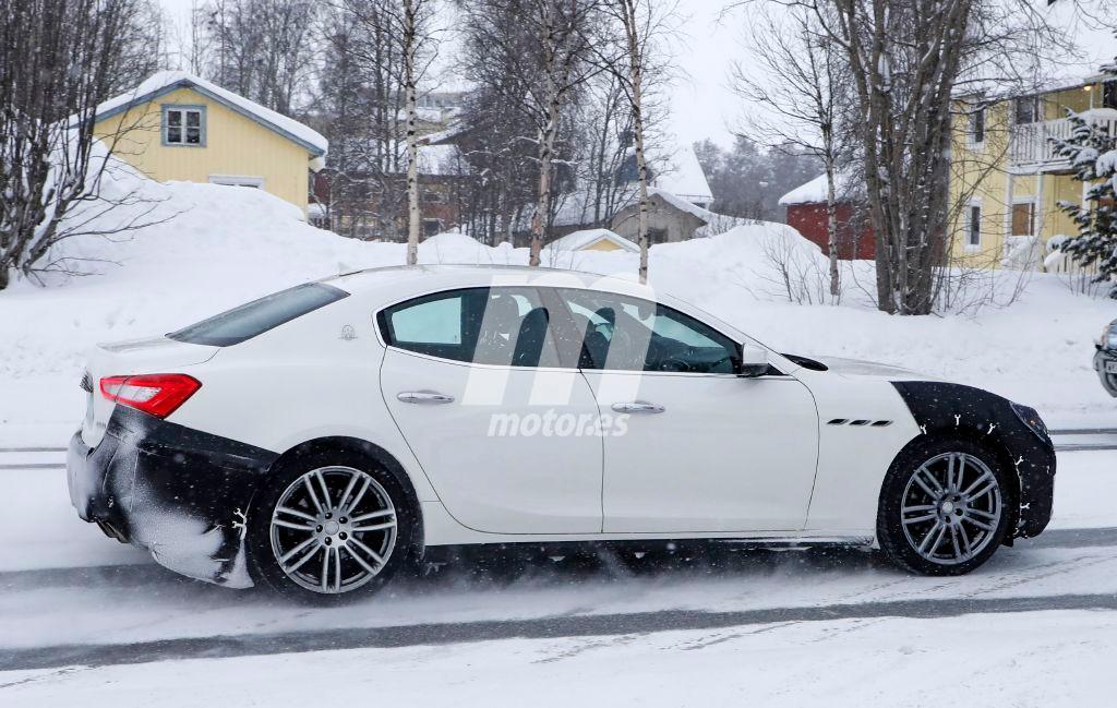 2018 Maserati Ghibli Facelift 10