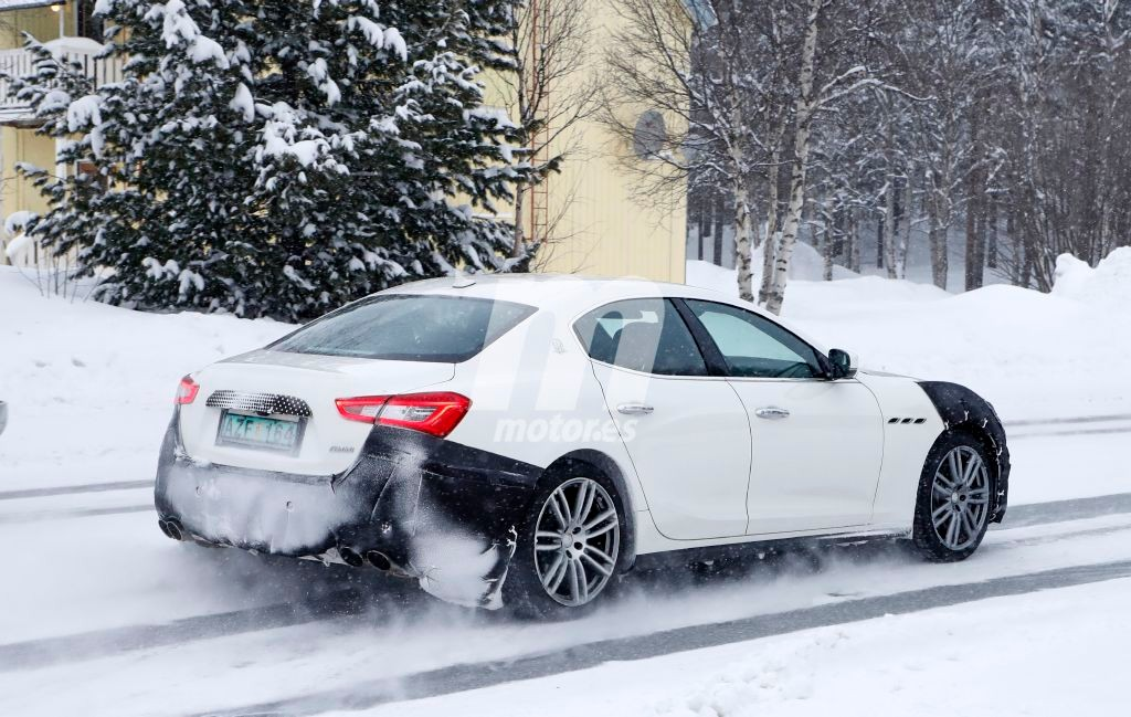 2018 Maserati Ghibli Facelift 11