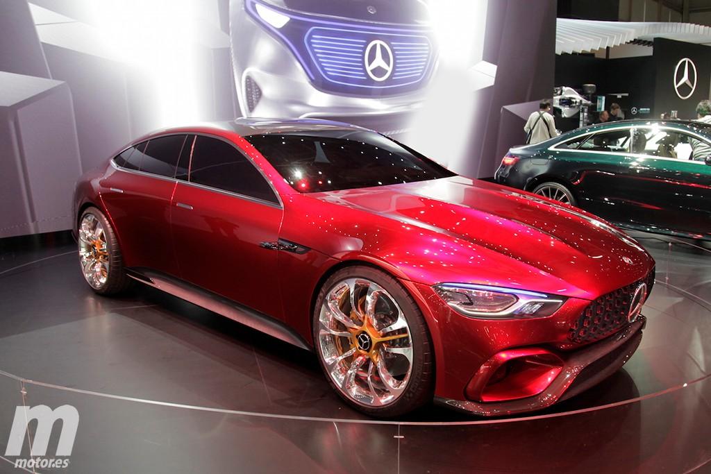 Mercedes-AMG GT Concept, un rival para el Panamera que pronto será realidad