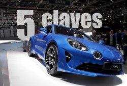 Alpine A110 2017: las 5 claves del nuevo deportivo que ha irrumpido en escena