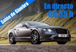 En directo: Bentley desde el Salón de Ginebra