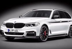 El nuevo BMW Serie 5 Touring 2017 se viste de gala con los accesorios M Performance