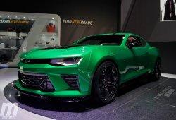 Chevrolet Camaro Track Concept: un Camaro más radical orientado a pista