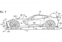 Chevrolet Corvette: descubiertas las patentes de nuevo sistema de aerodinámica activa