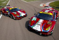 Ferrari presenta la librea de sus Ferrari 488 GTE del WEC