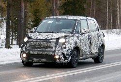 Fiat 500L Trekking 2018: fotos espía de la versión más aventurera de la gama