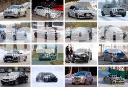 BMW i3 2018, Ford Focus 2018 y Volkswagen Touareg 2018: fotos espía Febrero 2017