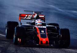 Haas sigue teniendo problemas de frenos