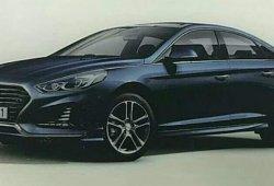Hyundai Sonata 2018; aparece la supuesta primera imagen filtrada del modelo