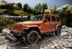 Jeep Wrangler 2018: filtradas las primeras imágenes completas de la generación JL
