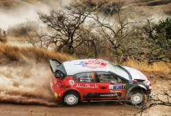 Kris Meeke gana con susto final el Rally de México