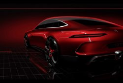 Mercedes-AMG GT Concept: el nuevo deportivo de 4 puertas basado en el AMG GT